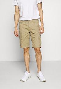 Superdry - Short - dress beige - 0