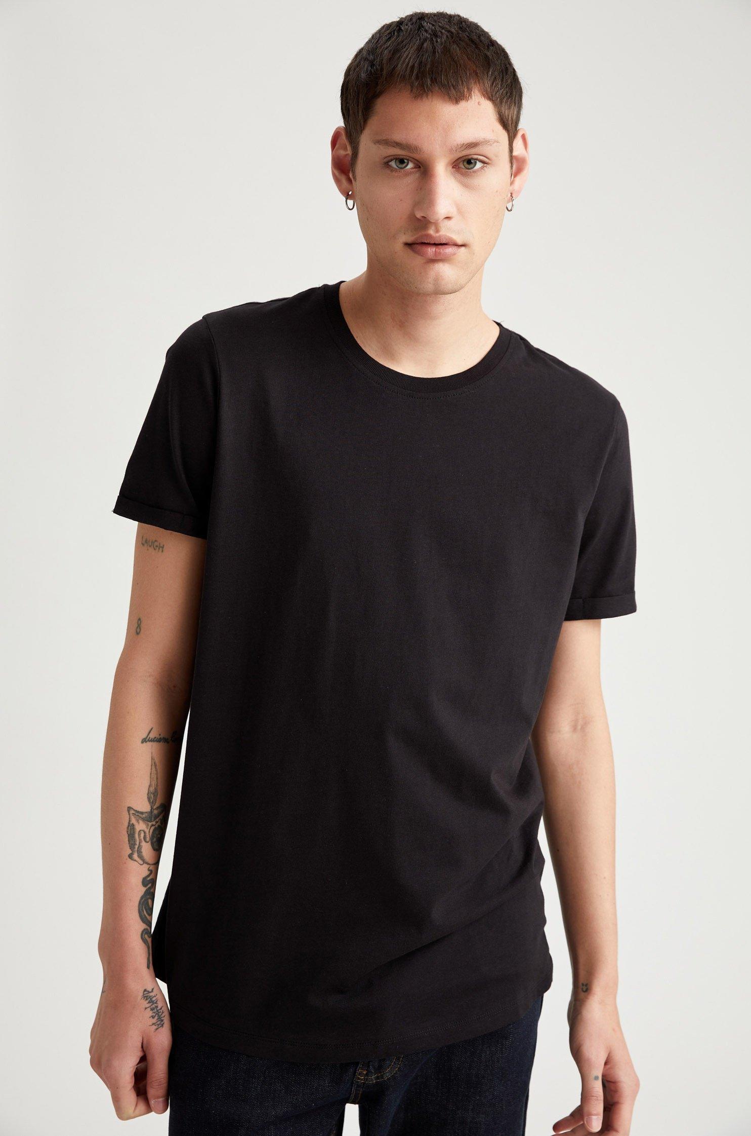 Homme LONG FIT - T-shirt basique