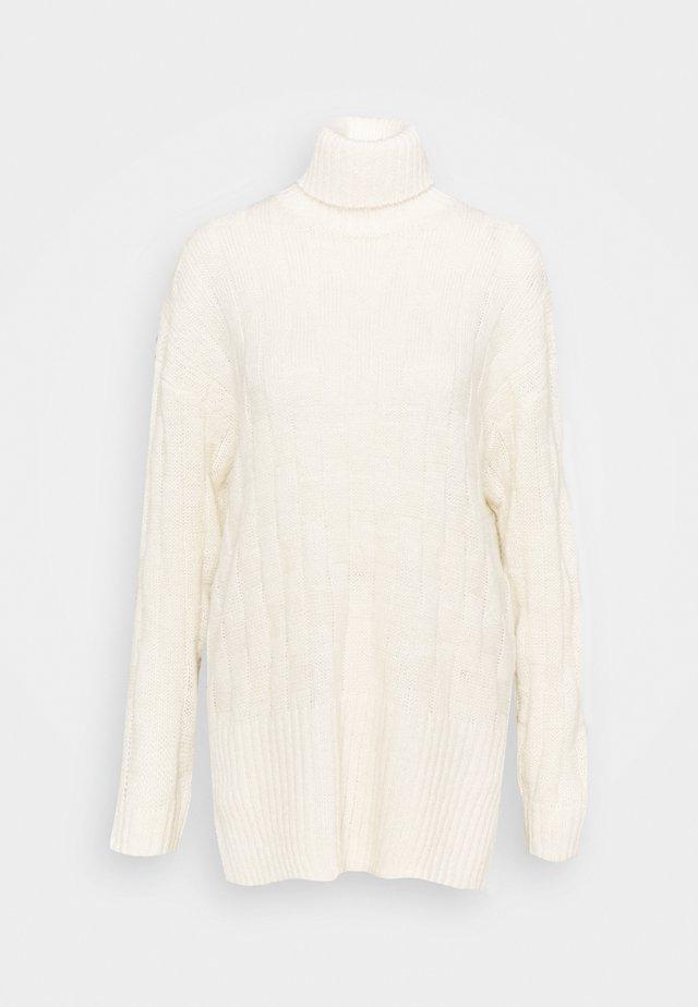 Jersey de punto - light white
