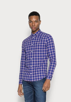 STRETCH POPLIN - Shirt - court blue