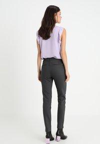 Mos Mosh - ABBEY NIGHT PANT - Trousers - grey - 2