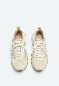 Uterqüe - Sneakers laag - beige - 3
