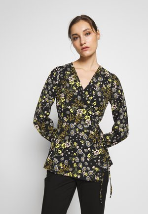 MIX & MATCH FLORAL  - Bluzka - black