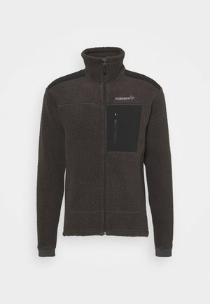 TROLLVEGGEN THERMAL PRO JACKET - Fleecejacke - black