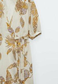 Massimo Dutti - MIT BLÄTTER - Day dress - brown - 5