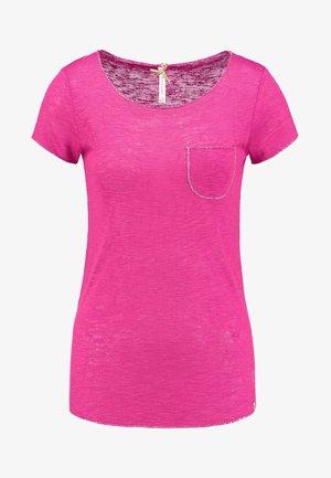 WT DUBLIN ROUND - Basic T-shirt - pink