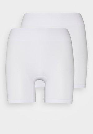 2 Pack HW seamless short - Shapewear - white