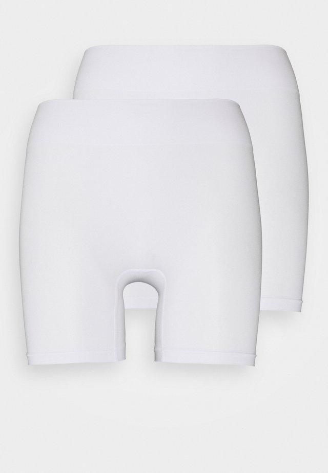 2 PACK - Muotoileva alusasu - white