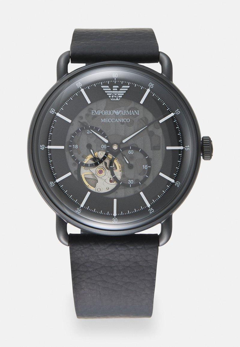 Emporio Armani - LUIGI - Watch - black