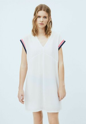 LUCREZIA - Jersey dress - blanco off