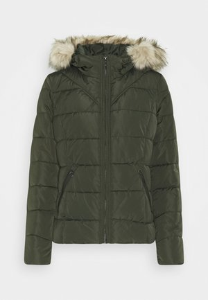 KURZE PUFFER - Light jacket - peat