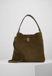 L. CREDI - FIORETTA - Handbag - khaki - 1