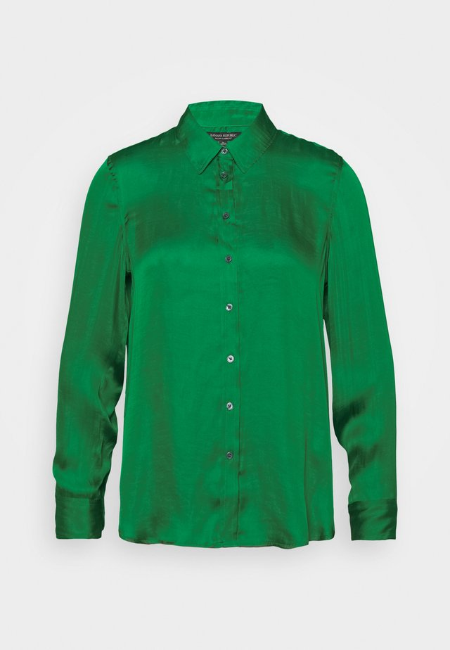DILLON SOFT  - Button-down blouse - luscious green