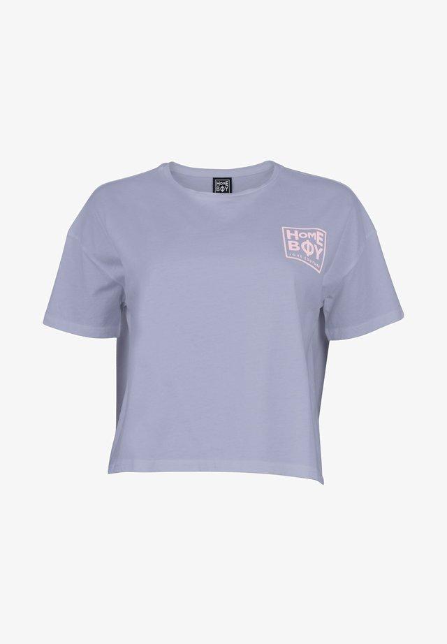 CATE T-SHIRT - Print T-shirt - ashley blue