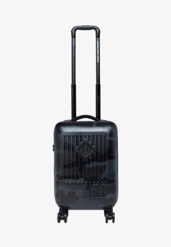TRADE CARRY ON NIGHT CAMO - Wheeled suitcase - black