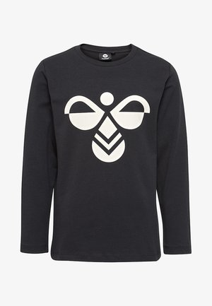 HMLHARPER  - Langærmede T-shirts - black