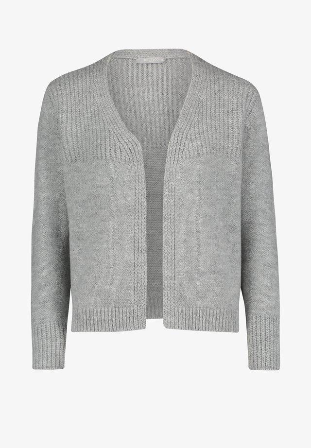 MIT STRUKTUR - Cardigan - middle silver melange