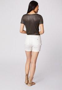 Morgan - Print T-shirt - khaki - 2