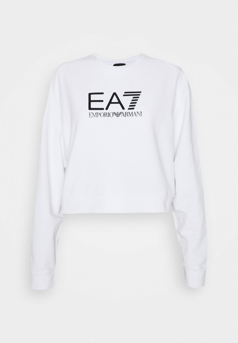 EA7 Emporio Armani - Sweatshirt - white/black