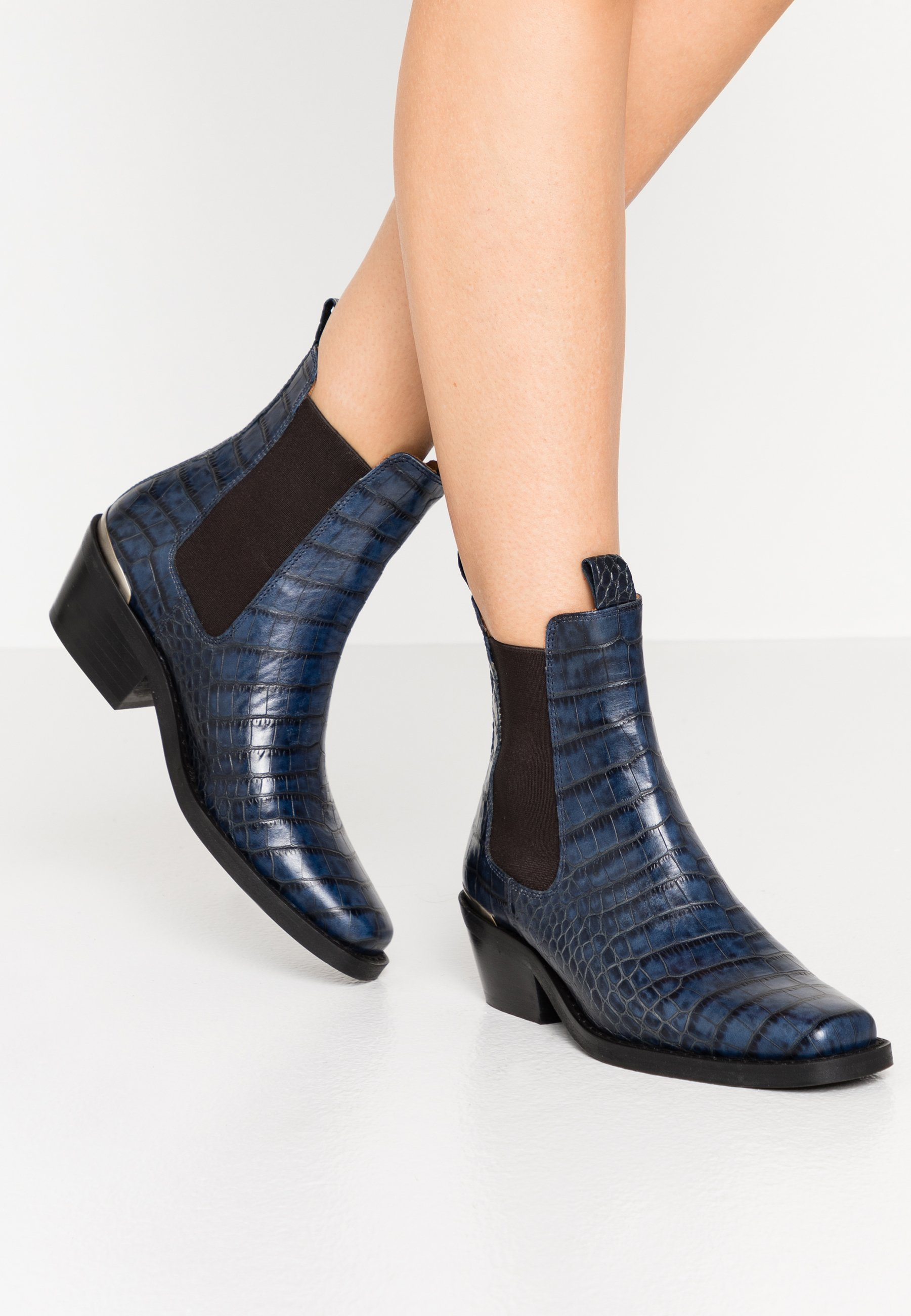 Billi Bi Bottines - blue luisiana - Bottines Femme Qualité