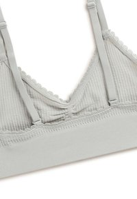 OYSHO - SEAMLESS LOOP - Triangle bra - green - 6