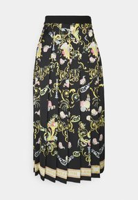 Versace Jeans Couture - LADY SKIRT - Pleated skirt - black - 6