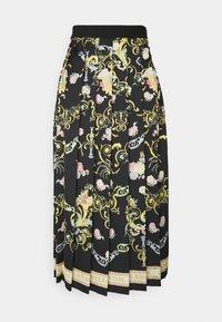 LADY SKIRT - Pleated skirt - black