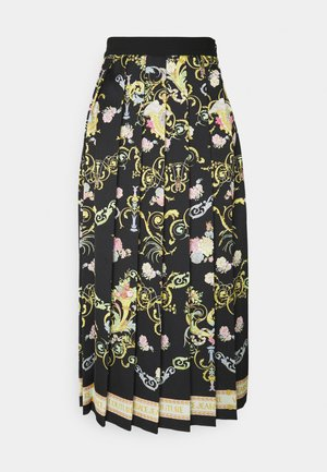 LADY SKIRT - Jupe plissée - black
