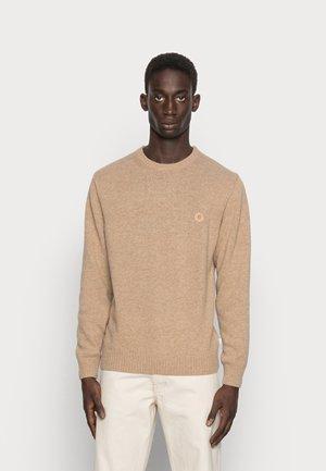 KRILLER WOOL - Stickad tröja - sand