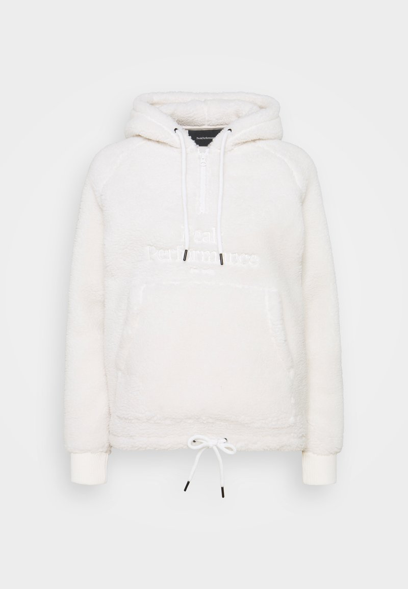 Peak Performance - ORIGINAL PILE HOOD - Fleece jumper - offwhite