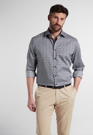 Overhemd - grau/schwarz