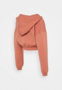 Pieces Maternity - PCMLINSA HOODIE LOUNGE - Sweatshirt - desert sand - 1