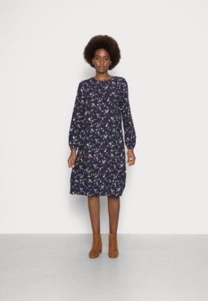 ROSE BUD KNEE DRESS - Day dress - evening blue