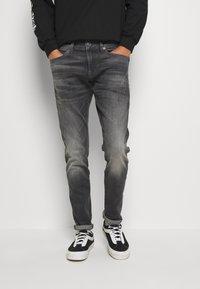 G-Star - 4101 LANCET SKINNY - Jeans Skinny Fit - elto Black vintage basalt destroyed - 0