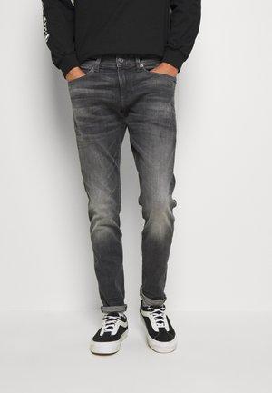 4101 LANCET SKINNY - Jeans Skinny Fit - elto Black vintage basalt destroyed