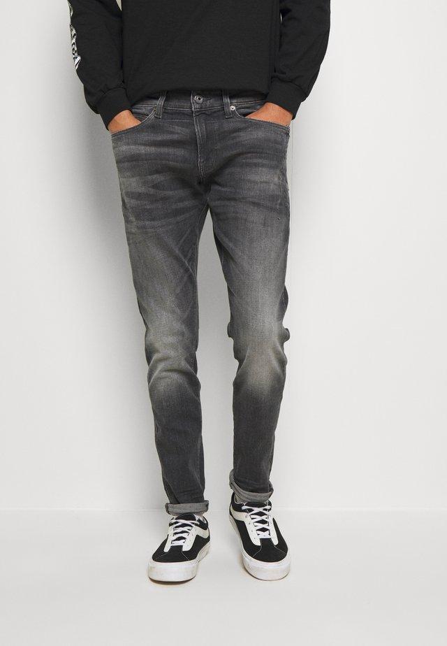 4101 LANCET SKINNY - Jeans Skinny - elto Black vintage basalt destroyed