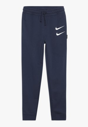 Tracksuit bottoms - midnight navy/white