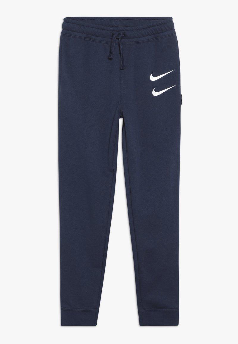Nike Sportswear - Teplákové kalhoty - midnight navy/white