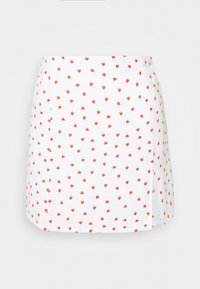 Glamorous - STRAWBERRY SKIRT - Mini skirt - white - 3