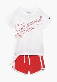 Champion - LEGACY AMERICAN CLASSICS SET - Tepláková souprava - white/red - 0