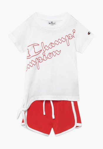 LEGACY AMERICAN CLASSICS SET - Tracksuit - white/red