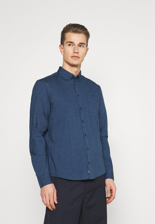 ANTON TWO TONE SHIRT - Košile - navy blazer