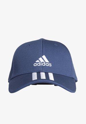 BASEBALL 3-STRIPES TWILL CAP - Czapka z daszkiem - blue