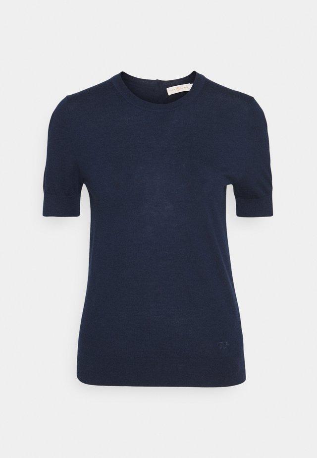 SHORT SLEEVE IBERIA - T-shirt con stampa - tory navy