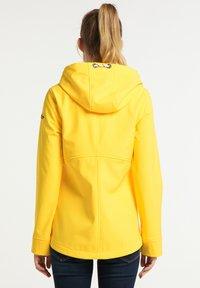 Schmuddelwedda - Softshellová bunda - gelb - 2