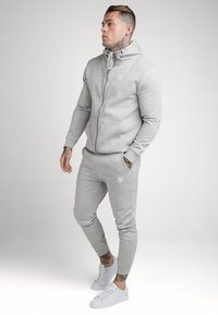 SIKSILK - MUSCLE FIT JOGGER - Tracksuit bottoms - grey marl - 1