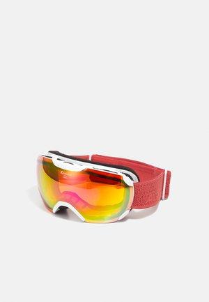 PHEOS  - Ski goggles - white/coral