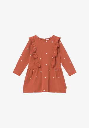 DELPHINA  - Day dress - rusty