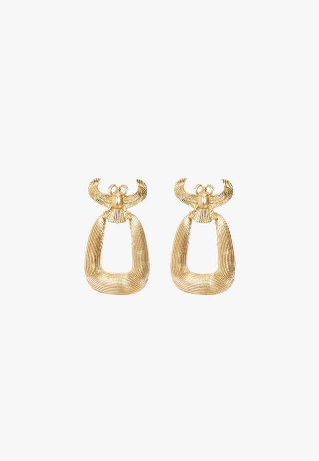 Earrings - gold