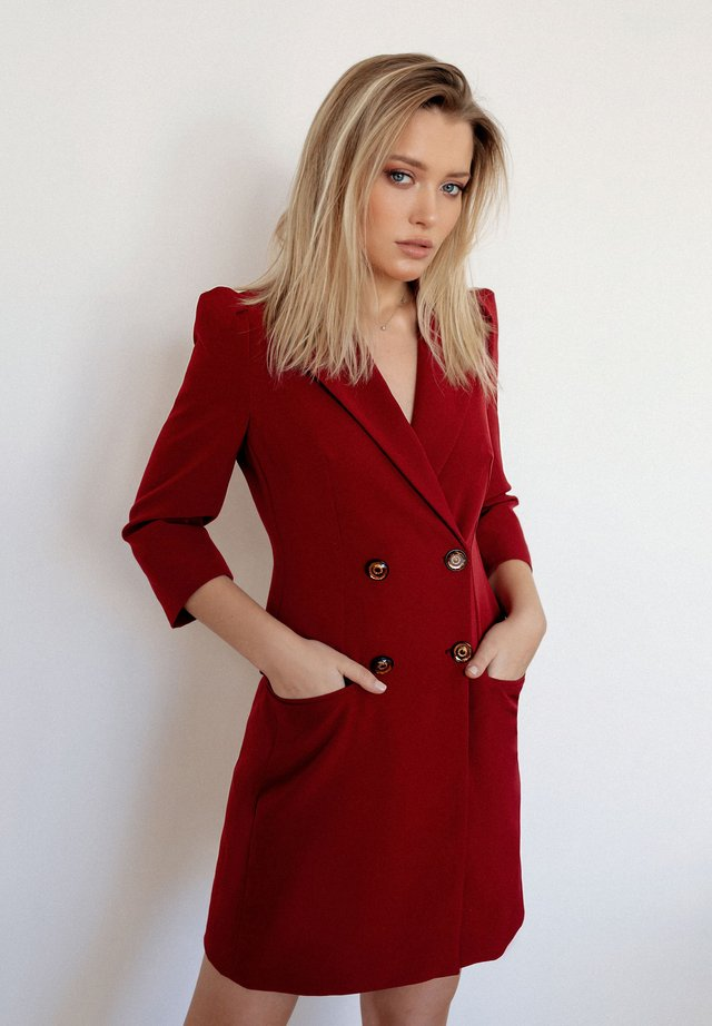 BLAIR - Short coat - bordeaux